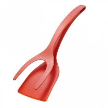 Двойная лопатка с держателем, красный