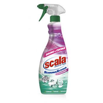 Активная пена-очиститель для ванны и кухни 700 мл Scala Schiuma attiva-detergente per Bagno e Cucina 80061305