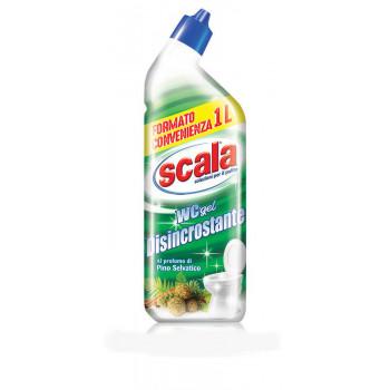 Гель для уборки туалета ароматом хвои 1000 мл Scala WC gel Disincrostante 8006130504120