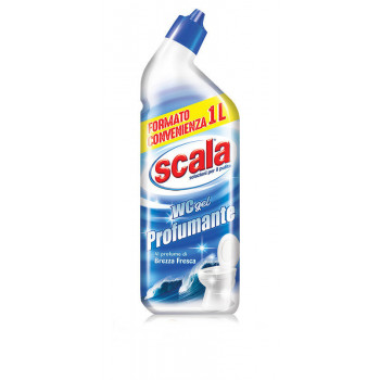 Гель для уборки туалета с ароматом свежего бриза 1000 мл Scala WC gel Profuman 8006130504144