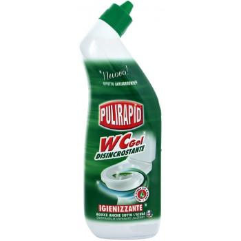 Гель для мытья унитаза 750 мл WC Pulirapid 8002295000279