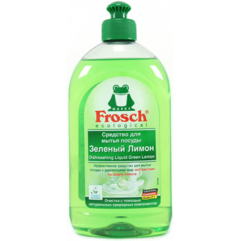 Бальзам для посуды 500 мл Зеленый Лимон Frosch 4009175161833