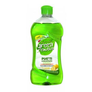 Cредство для мытья посуды 500мл Green Emotion Piatti Limone 8006130503543