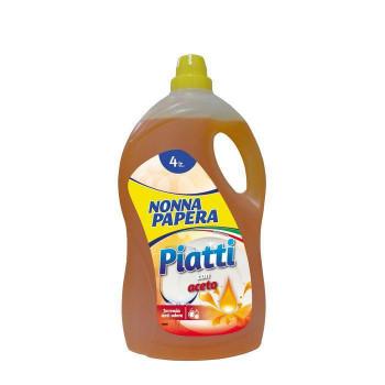 Cредство для мытья посуды 4 л Nonna Papera Detersivo Piatti Concentrato 8003985005260