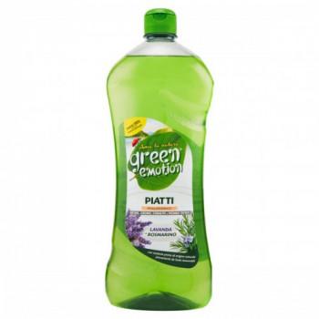 Cредство для мытья посуды 1000мл Green Emotion Piatti LavandaRosmarino 8006130503826