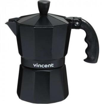 Гейзерная алюминиевая кофеварка на 3 чашки Vincent VC-1366-300