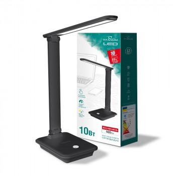 Led лампа Titanum 10W 3000-6500K чорная,белая