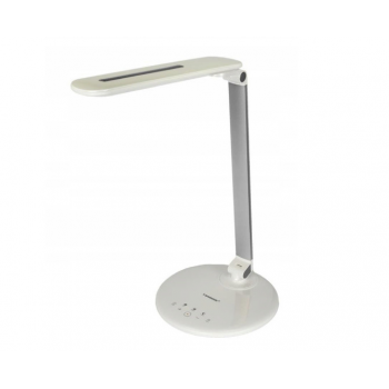 Лампа светодиодная настольная Tiross TS-1806-Silver 72 Led серебристая