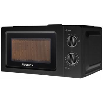 Микроволновая печь 20 л черная Grunhelm 20MX701-B