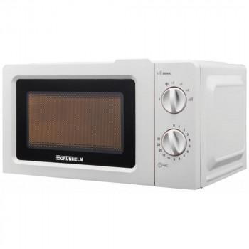 Микроволновая печь 20 л белая Grunhelm 20MX701-W