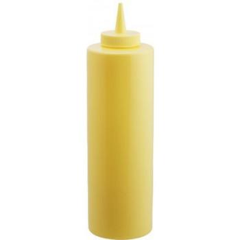 Желтый диспенсер для соусов и сиропов на 350 мл Empire М-7082