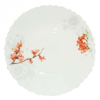 Блюдо десертное Айва оранж d=21,5см Snt 30071-16003