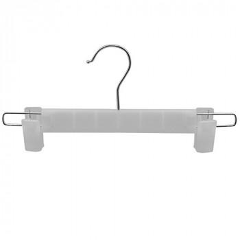 Вешалка для брюк с прищепками Stenson Plastic 29 см R-85767 10 штук