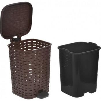 Бак для мусора Irak Plastik CK-750-Brown
