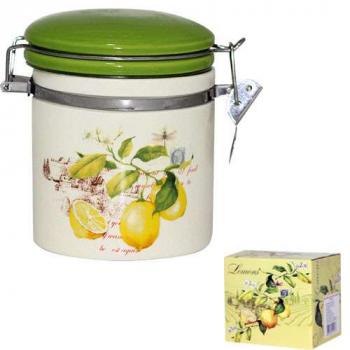 Емкость для сыпучих продуктов 0.5 л Лимон Snt 630-7